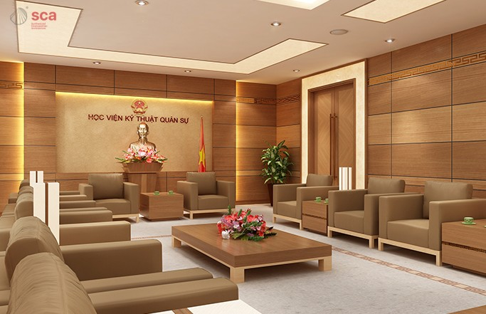 RECEPTION ROOM – MILITARY ACADEMY